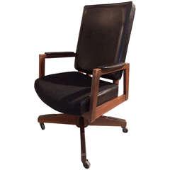 Mid-Century Executive Desk Chair
