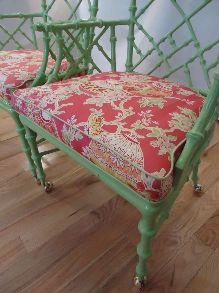 Bamboo chippendale chairs - Best Ideas About Chippendale Chairs Pair Chinese Chippendale Iron Bamboo Arm Chairs Stdibs Pair Chinese Chippendale