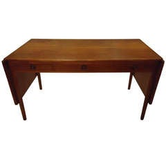 Hans Wegner Teak Drop Leaf Desk