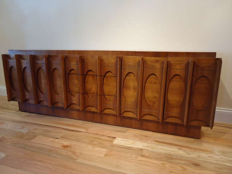 mid century modern teak credenza for sale hutch china cabinet buffet bar