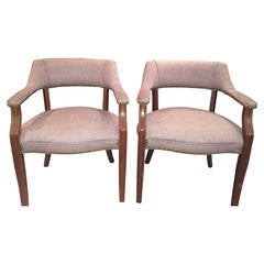 Pair of Mid-Century Arm chairs