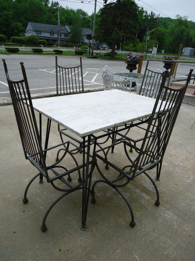 Mid Century Modern Salterini Dining Patio Set At 1stdibs