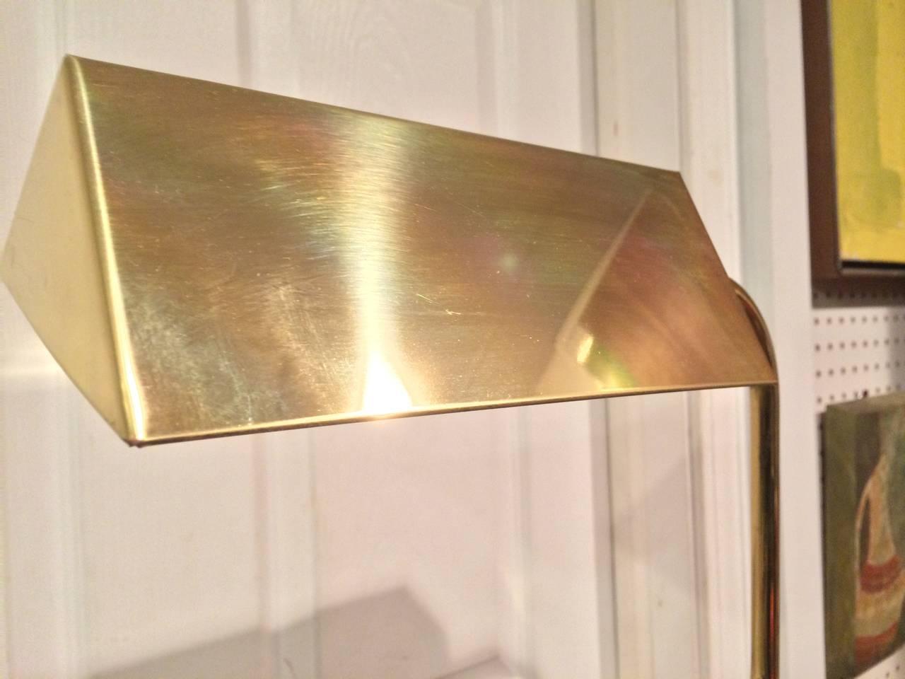 Mid Century Brass Floor Lamp At 1stdibs