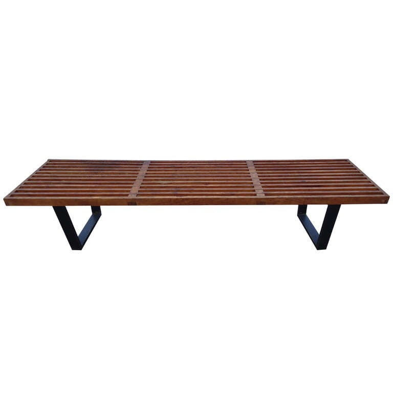 George Nelson For Herman Miller Slat Coffee Table At 1stdibs