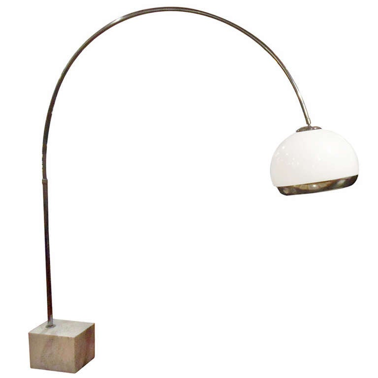 Harvey Guzzini Arc Floor Lamp For Laurel Lighting Co