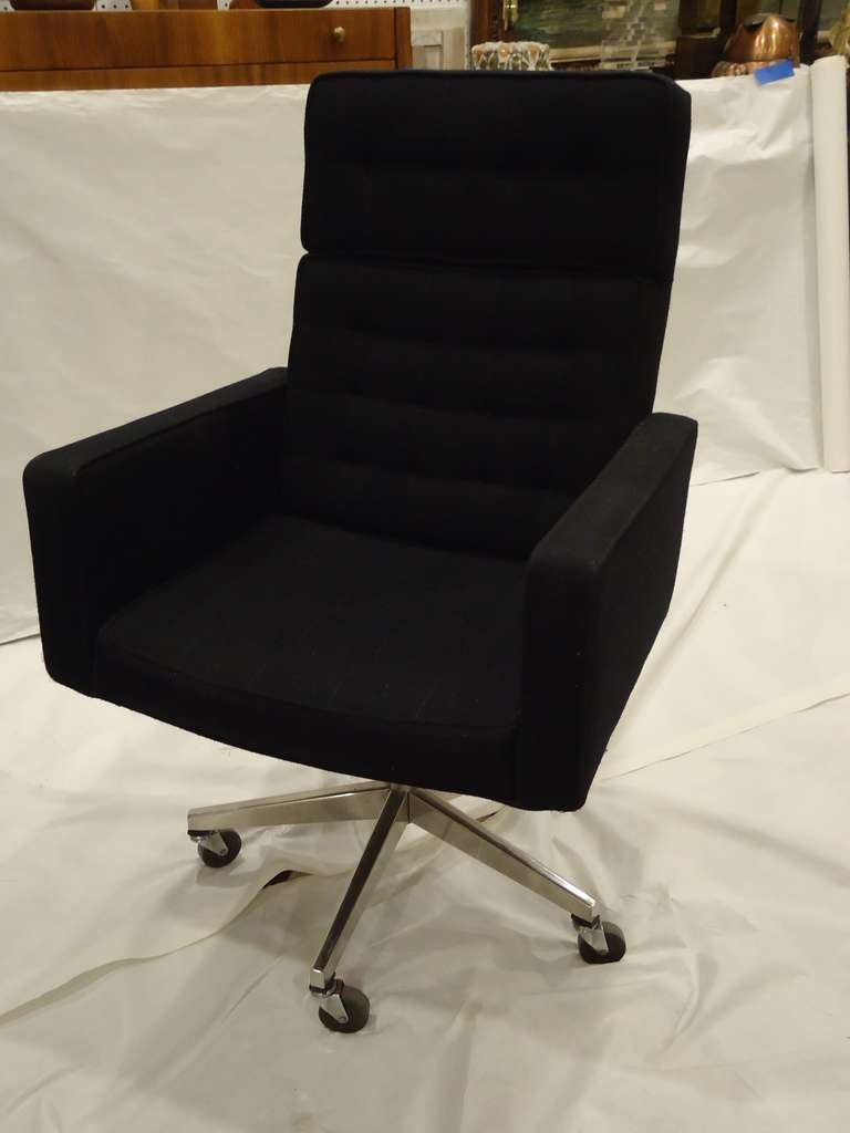 executive office or desk chair designedvincent cafiero for