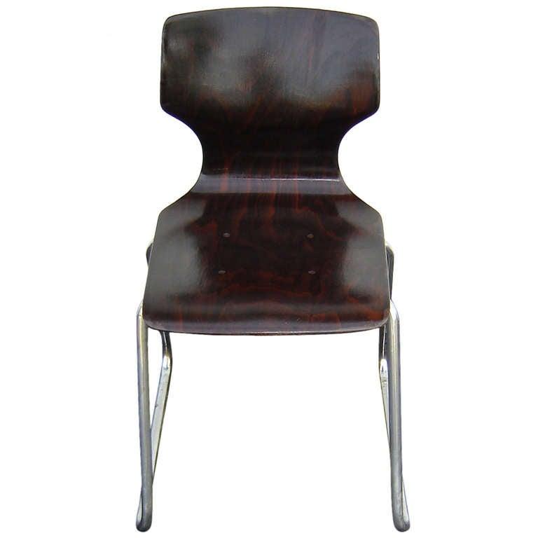 Elmar Flototto Rosewood Side Chair