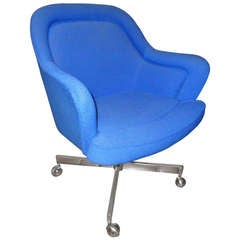 Mid-Century Swivel Chair in the Style of Max Pearson