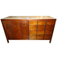 Marble Top Midcentury Credenza by Martinsville