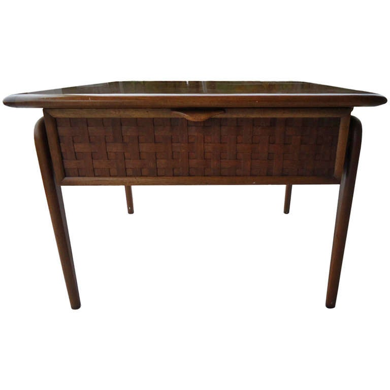 1950s Mid Century End Table By Lane Furniture: Mid-Century Side Table By Lane At 1stdibs