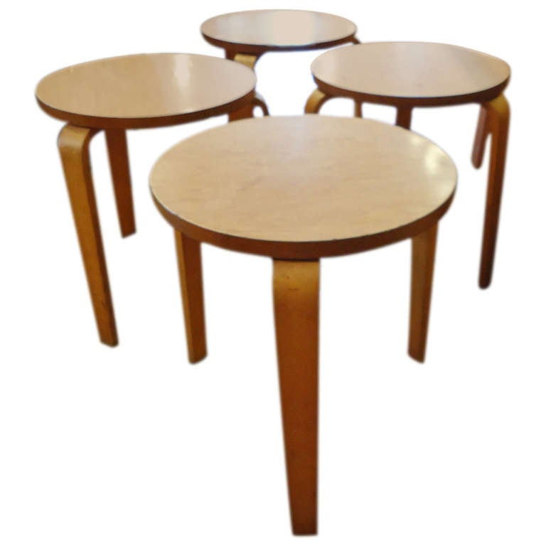 Stackable Nesting Tables ~ Mid century modern stacking tables at stdibs