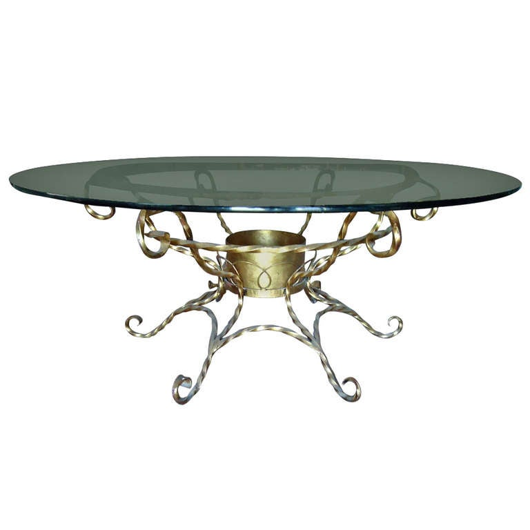 Hollywood Regency Gilt Coffee Table At 1stdibs