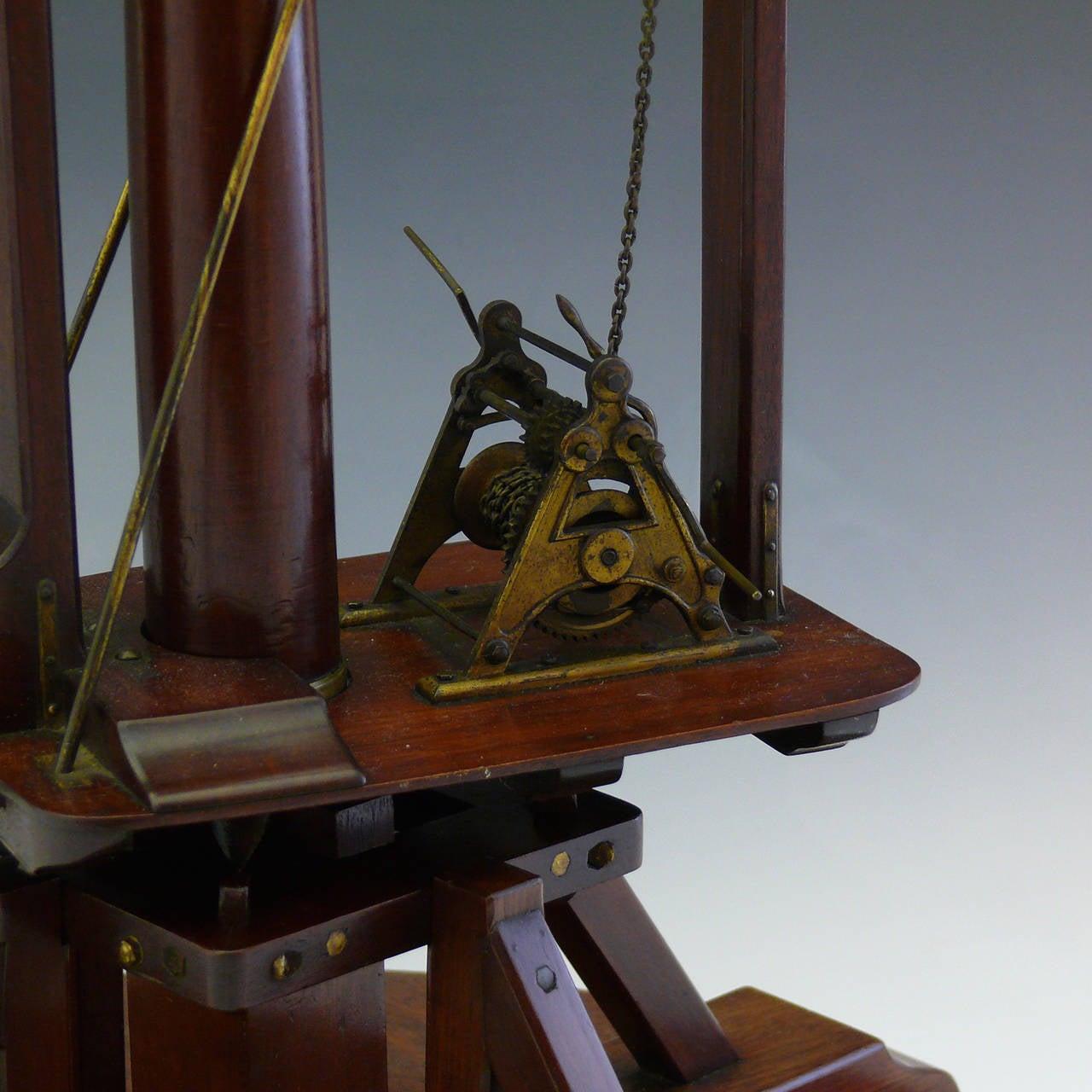 Wooden Model Cranes Wooden Scale Model Crane