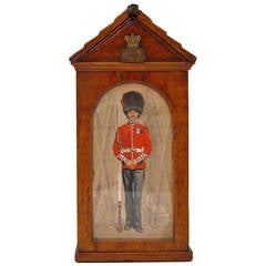 Handsome Victorian Cigar Sentry Box, circa 1890