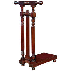 Mahogany Country House Boot Jack circa 1880