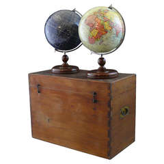 Boxed Set of Terrestrial and Celestial Globes