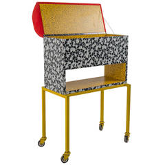 Cabinet or Treasure Chest by Nanda Vigo, Unique Piece, 1980