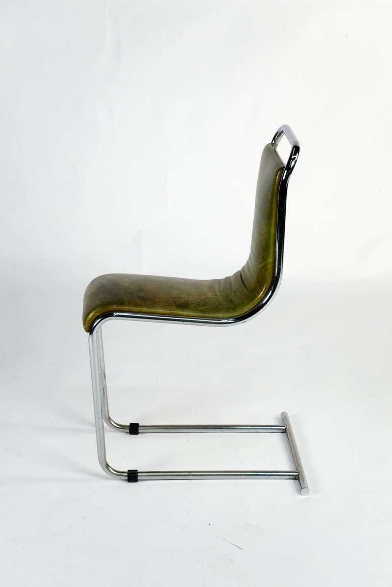 Set Of Four Chairs By Ico Parisi At 1stdibs