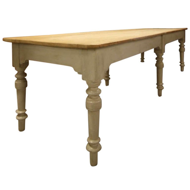 large english antique pine dining table at 1stdibs  rh   1stdibs com