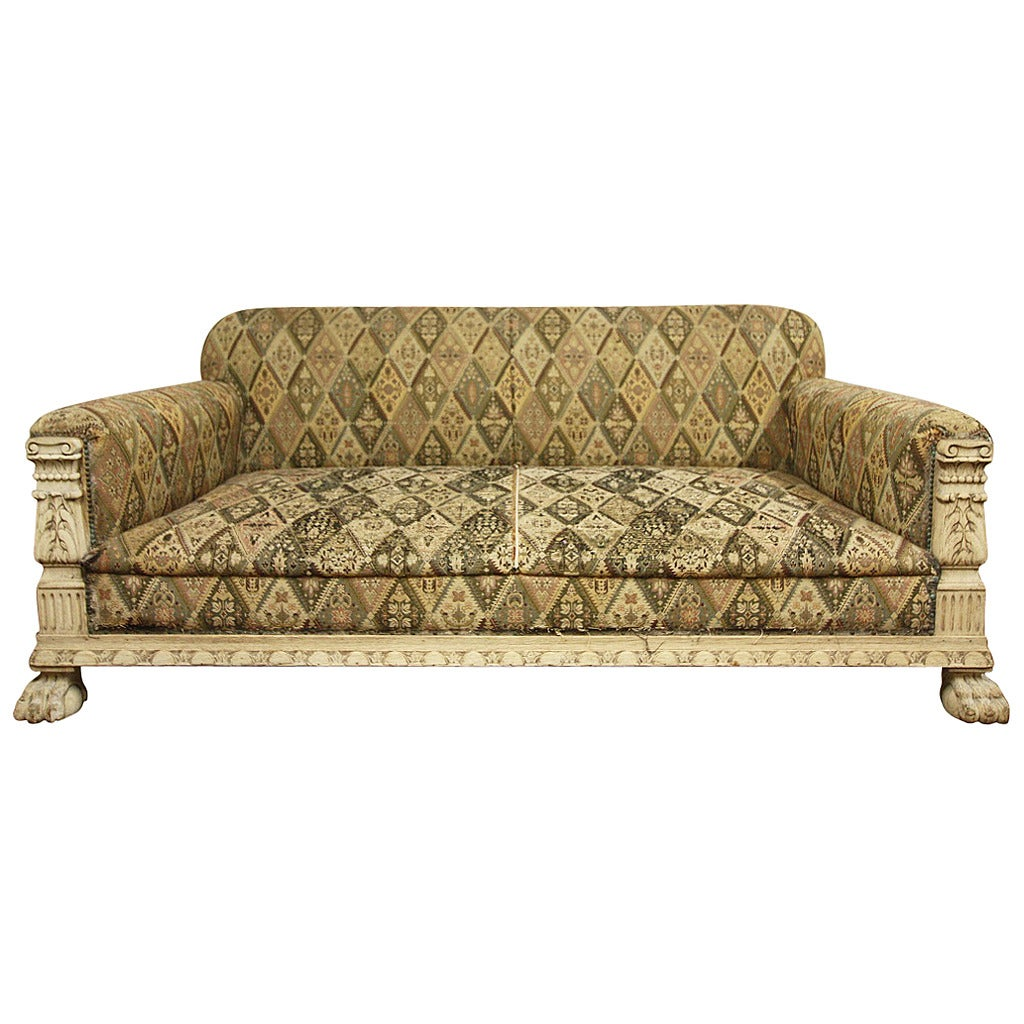 Fabulous English Antique Deep Seated Sofa At 1stdibs