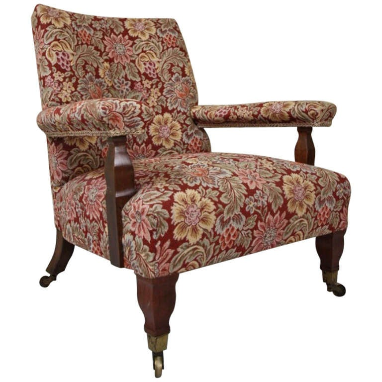 Antique William Morris Connaught Armchair By George Jack