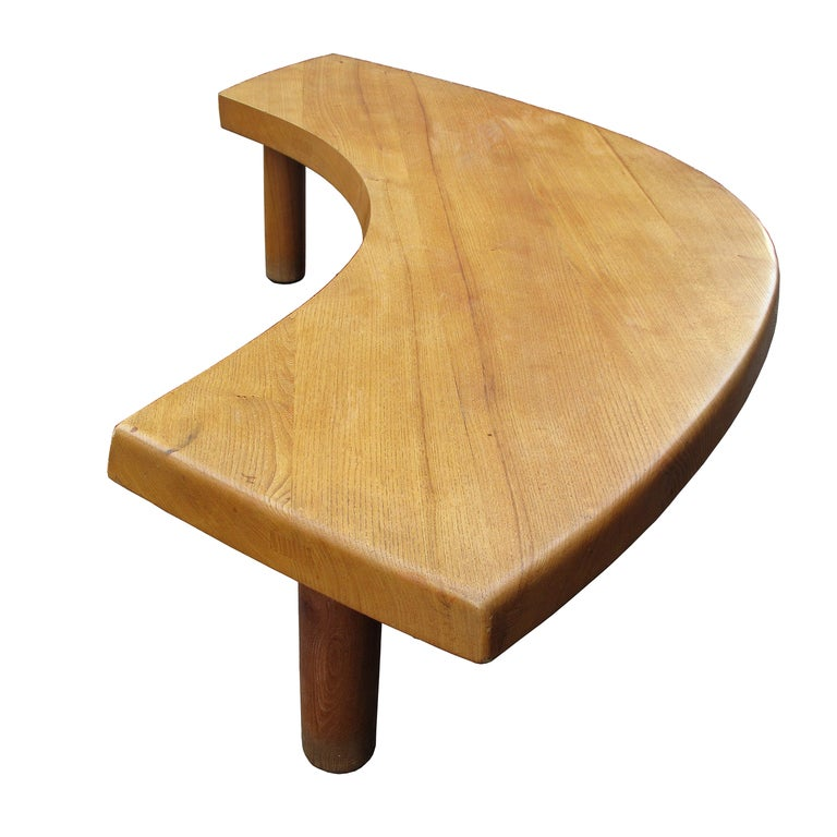Pierre Chapo T22 Boomerang Table At 1stdibs