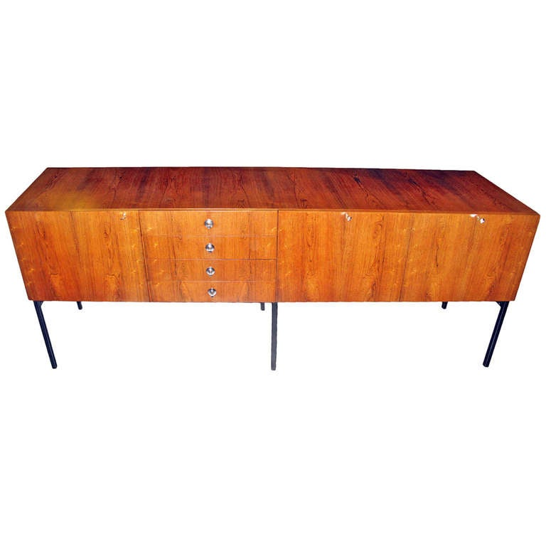 Alain richard sideboard 800 meubles tv 1958 at 1stdibs for Garde meuble 94