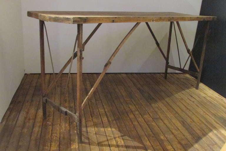 Antique Wallpaper Hangers Work Table image 4