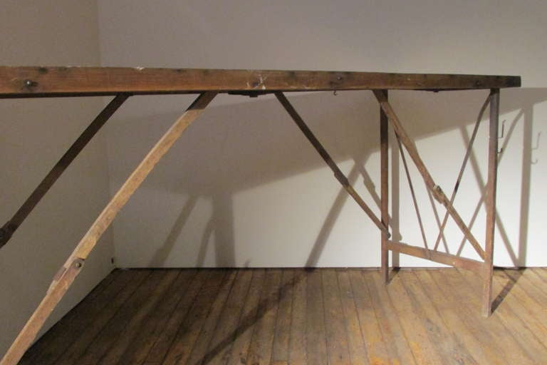 Furniture Repair Rochester Ny Antique Wallpaper Hangers Work Table at 1stdibs