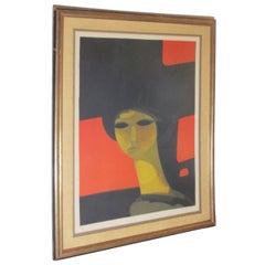 Andre Minaux Signed and Numbered Lithograph