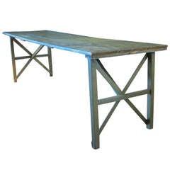 Painted Harvest Farm Table