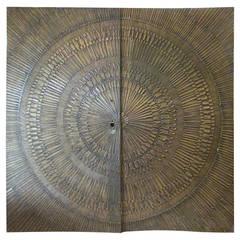 Heroic Sunburst Double-Door Panels by Billy Joe McCarroll and David Gillespie
