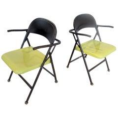 Bauhaus Style Metal Folding Chairs