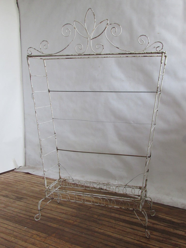 French Wire Etagere Mategot Style For Sale 1