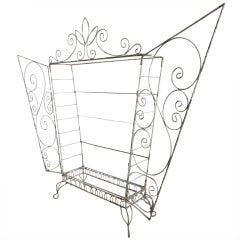 French Wire Etagere Mategot Style