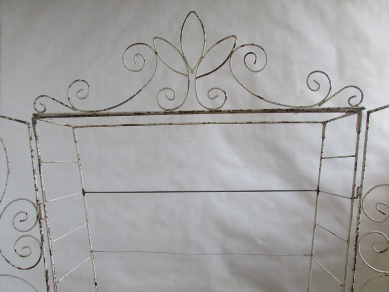 French Wire Etagere Mategot Style For Sale 2