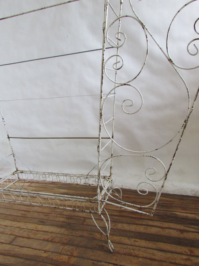 French Wire Etagere Mategot Style For Sale 4