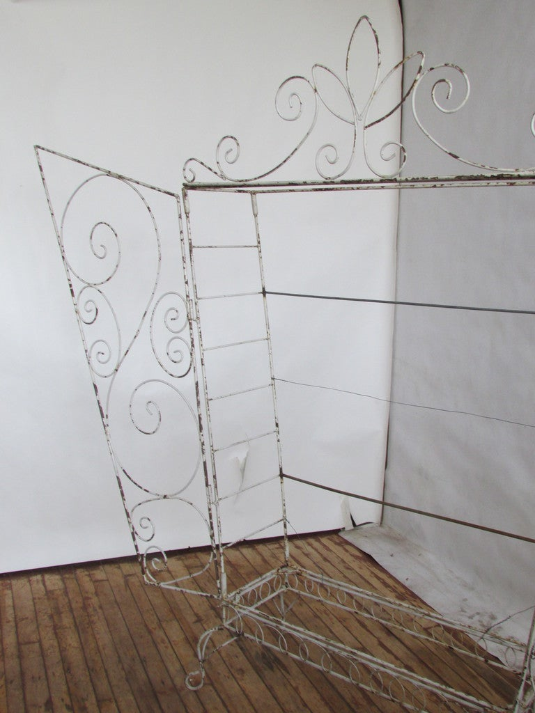 French Wire Etagere Mategot Style For Sale 5