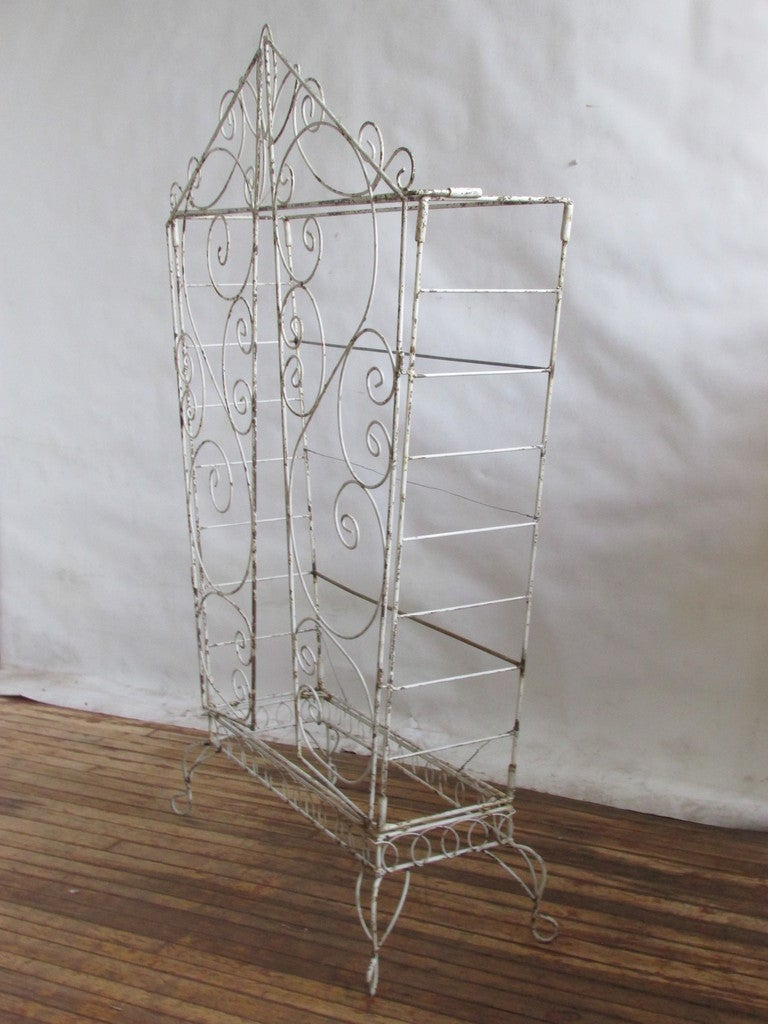 French Wire Etagere Mategot Style For Sale 3