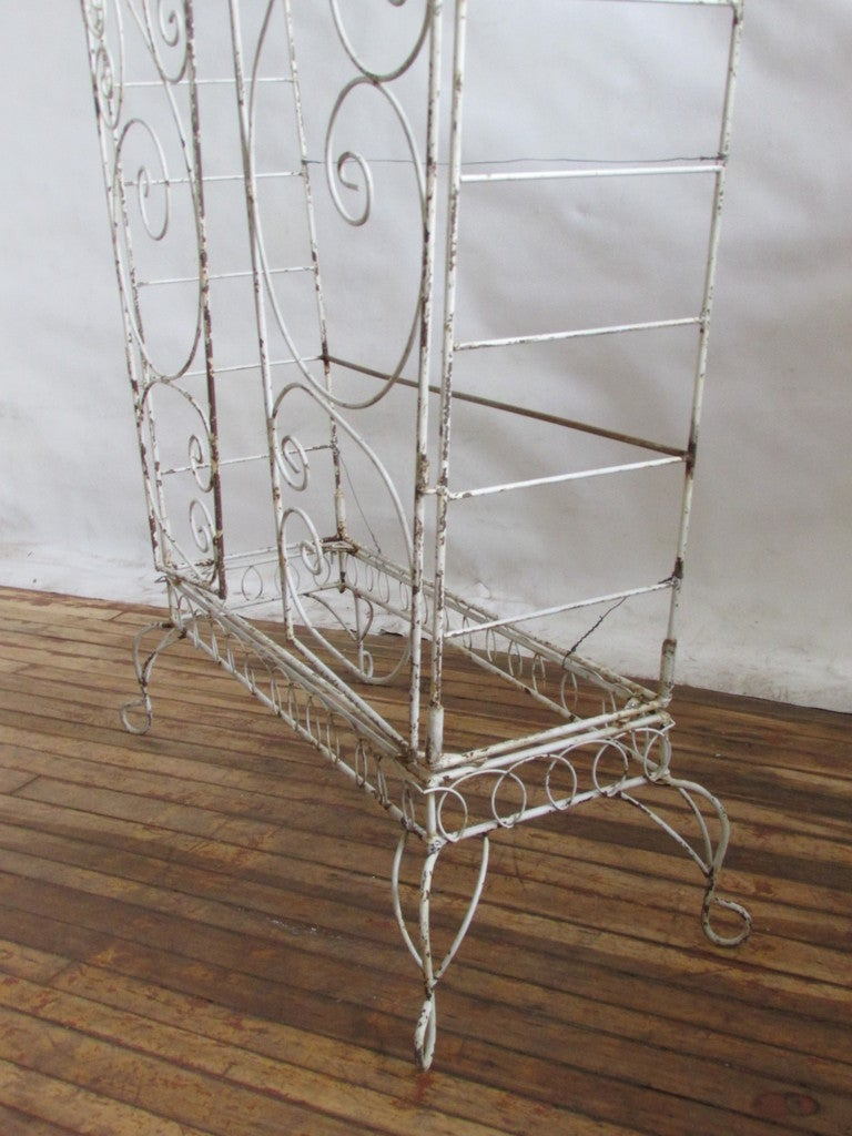 French Wire Etagere Mategot Style For Sale 6