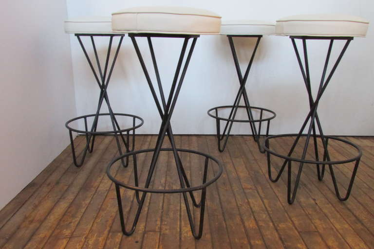 Paul Tuttle Bar Stools At 1stdibs