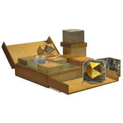 Handmade Paper Ancient Geometric Oddity Puzzle Box