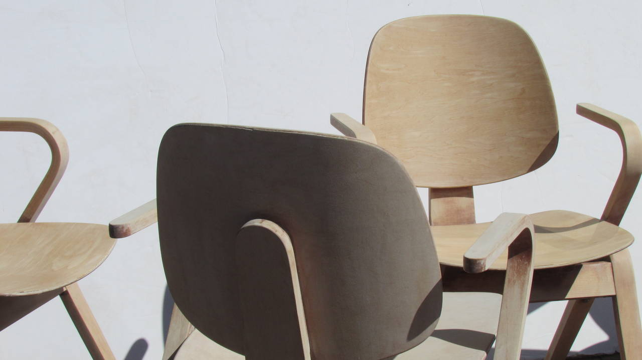 American Thonet Bentwood Armchairs by Joe Atkinson ( 2 chairs sold - 2 chairs available )