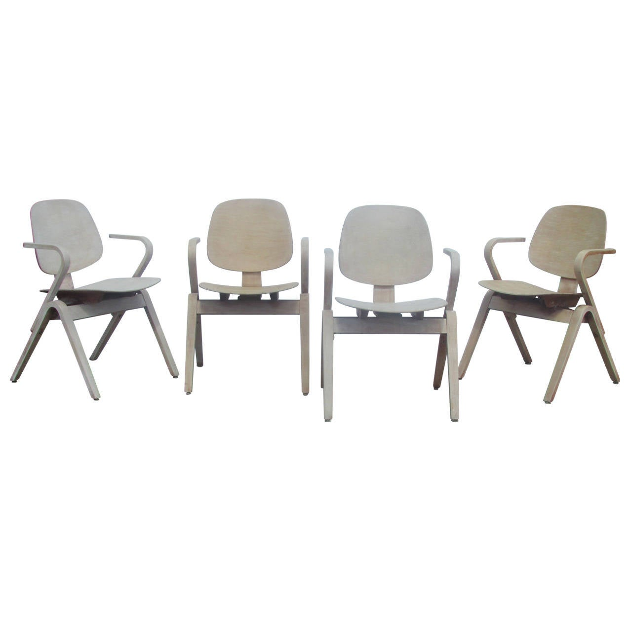 Thonet Bentwood Armchairs by Joe Atkinson ( 2 chairs sold - 2 chairs available )