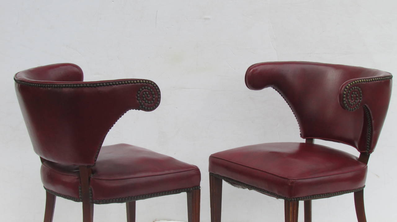 1940's Regency Chairs For Sale 5