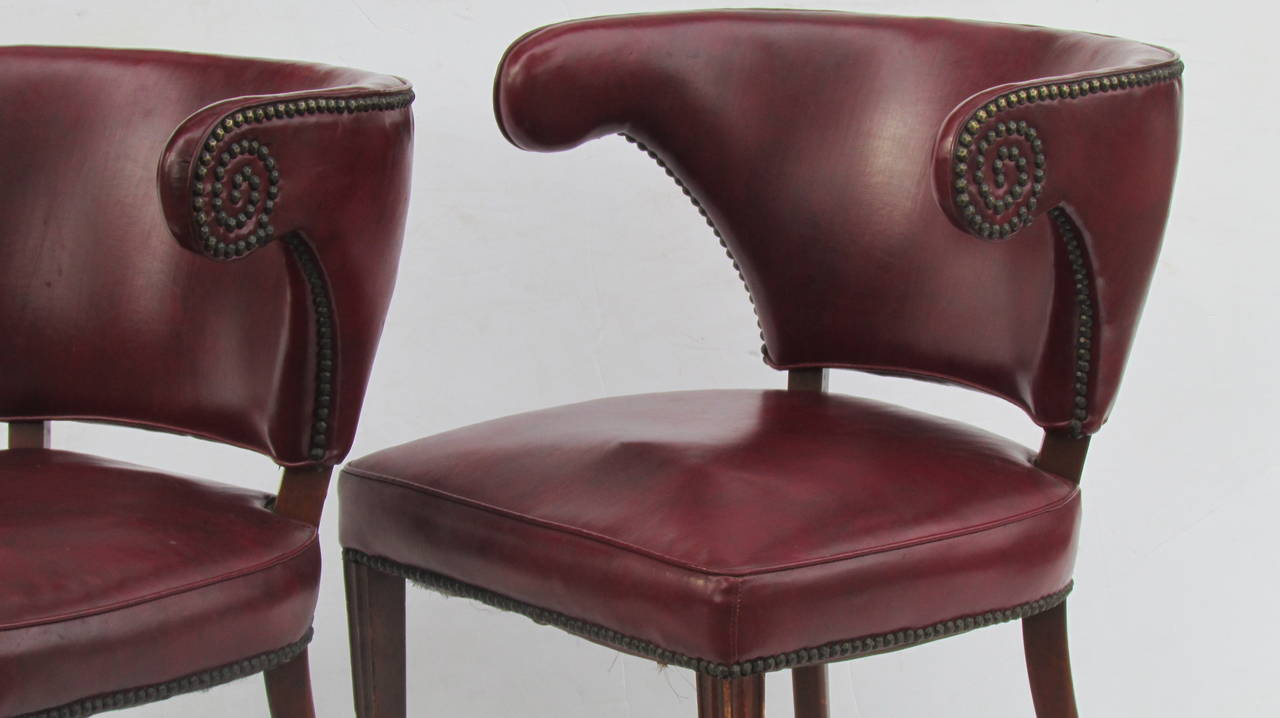 1940's Regency Chairs For Sale 3