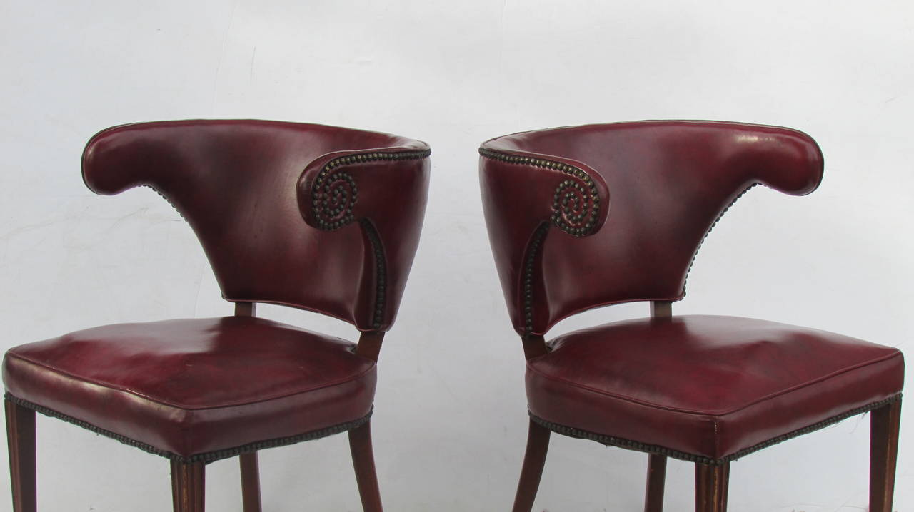 1940's Regency Chairs For Sale 2