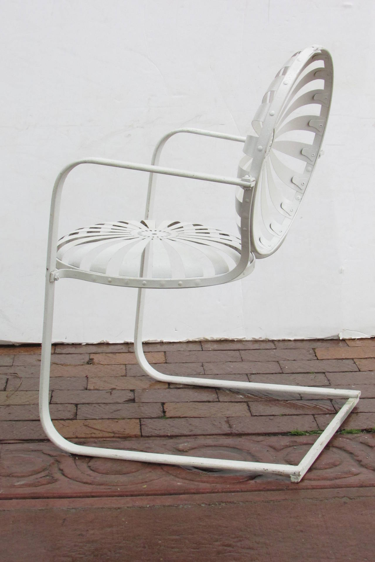 Francois Carre French Garden Chairs Circa 1930 At 1stdibs