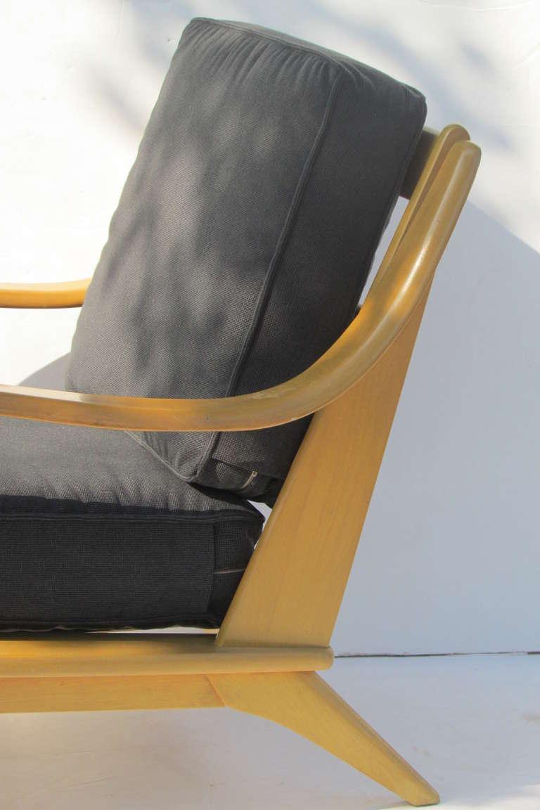 Heywood Wakefield Streamlined Lounge Chairs At 1stdibs