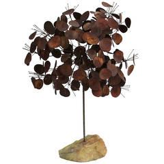 Curtis Jere Raindrops Tree Sculpture